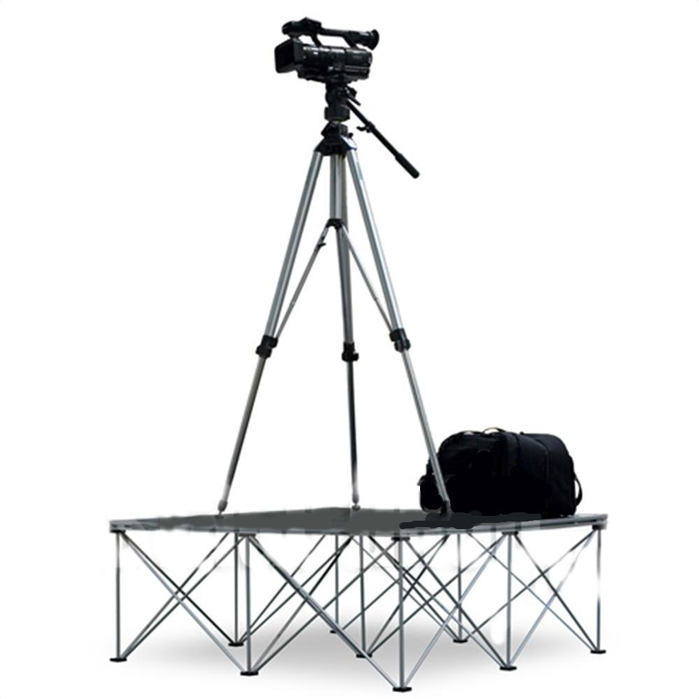 cameraman conductor staging podium