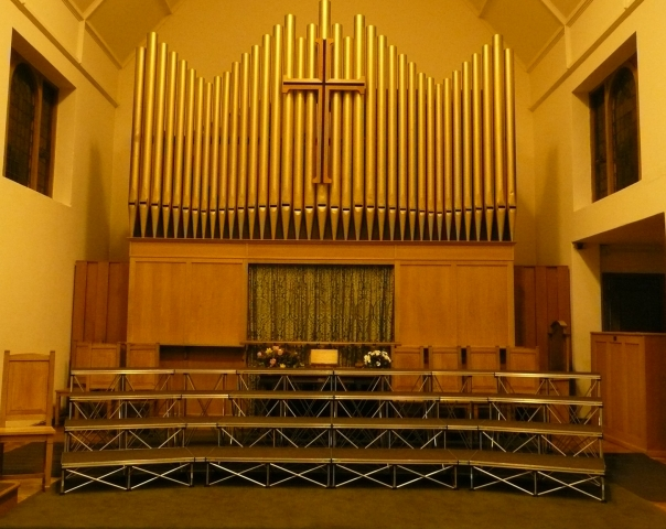 Curved Choir Staging - Mobile