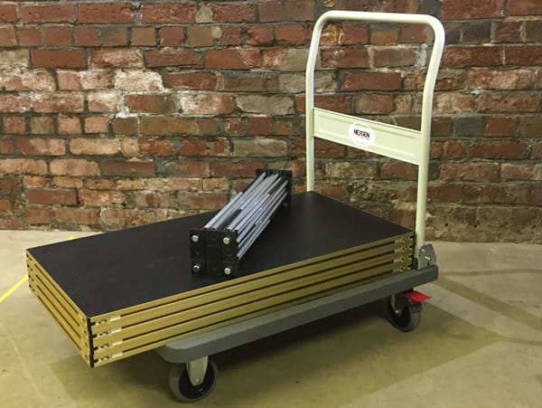 Portable Staging trolley - folding