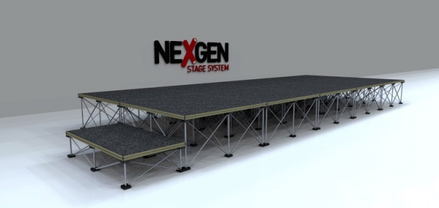 5x2m Portable Staging package