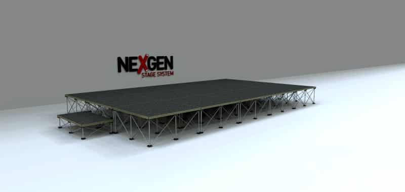 5x3m Portable Staging package