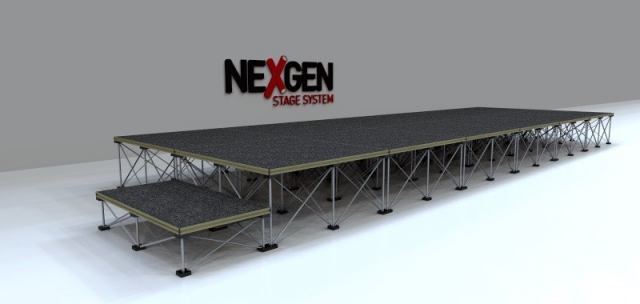 6x2m Portable Staging package
