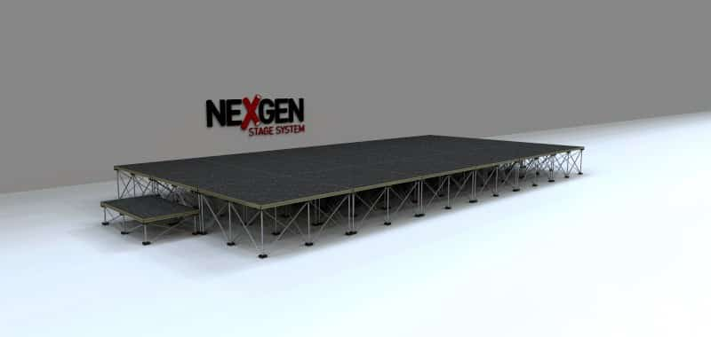 6x3m Portable Staging package