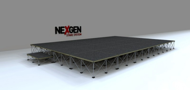 6x4m Portable Staging package