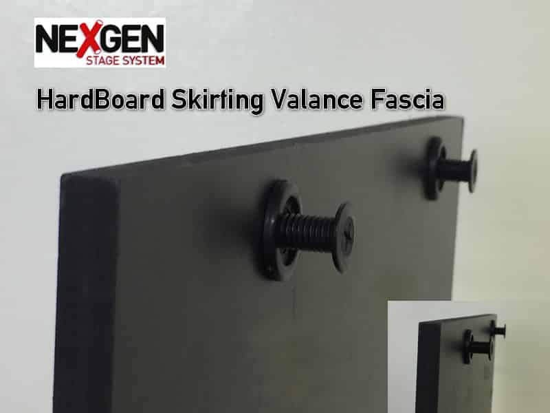 staging valance skirting
