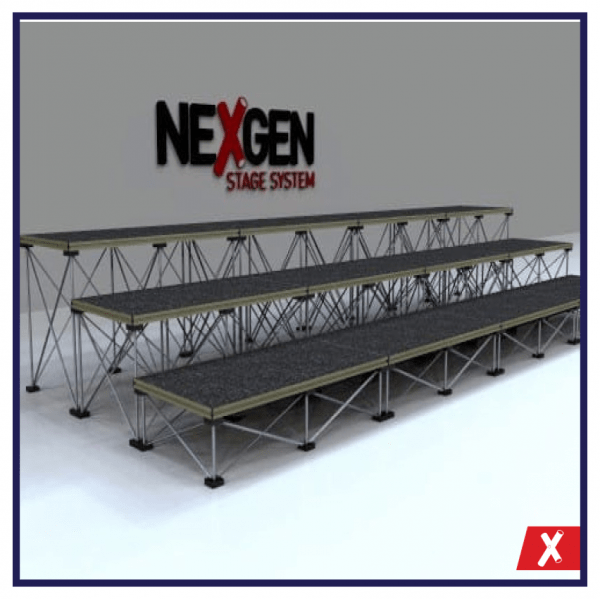Choir-Tier-Staging-NexGen-Package-4metre-wide