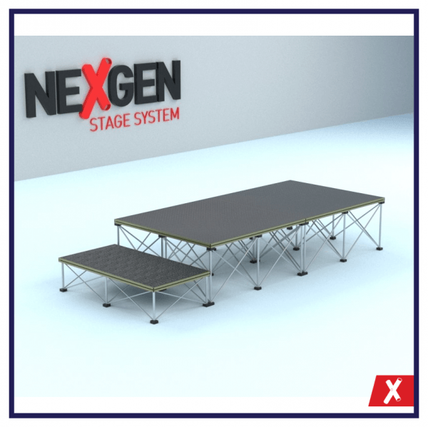 NexGen-2x1m-Portable-Staging-Package