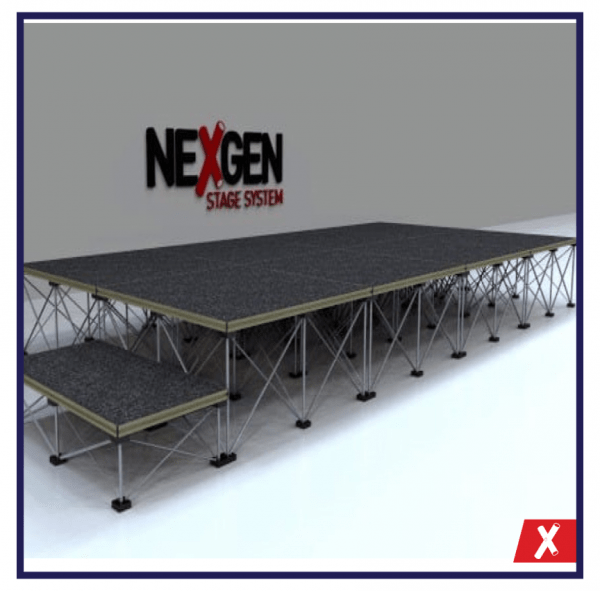 NexGen-4x2m-Portable-Staging-Package