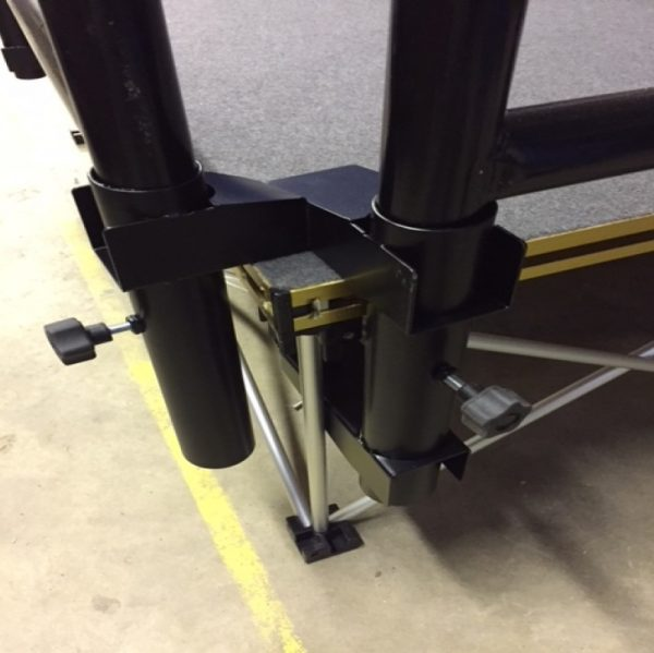 handrail corner clamps for NexGen portable stage