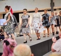 South Yorkshire fashion show event on a NexGen staging podium