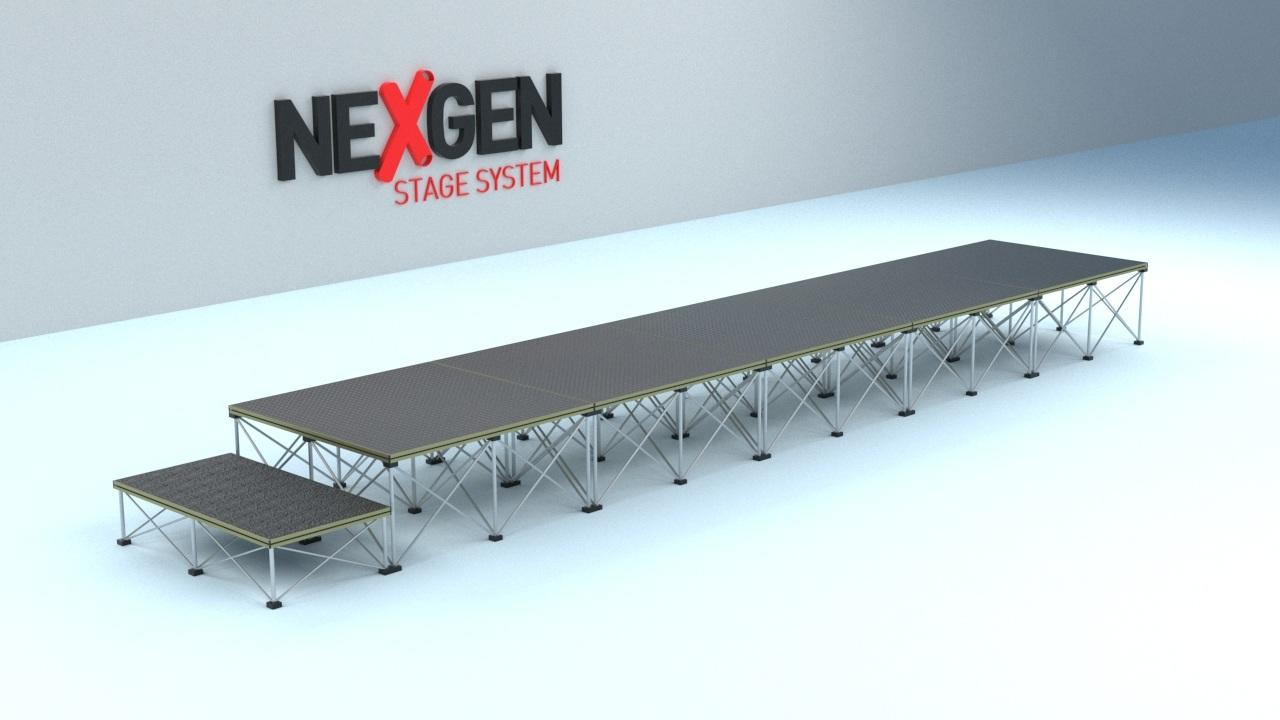 5m work platform for trades