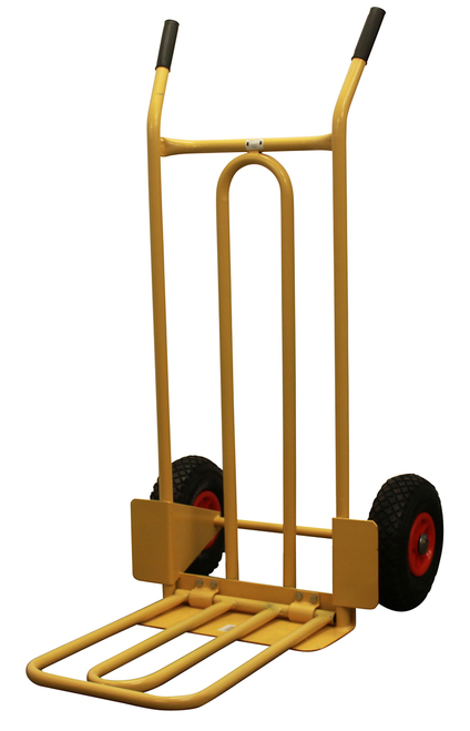 heavy duty sack truck for staging storage
